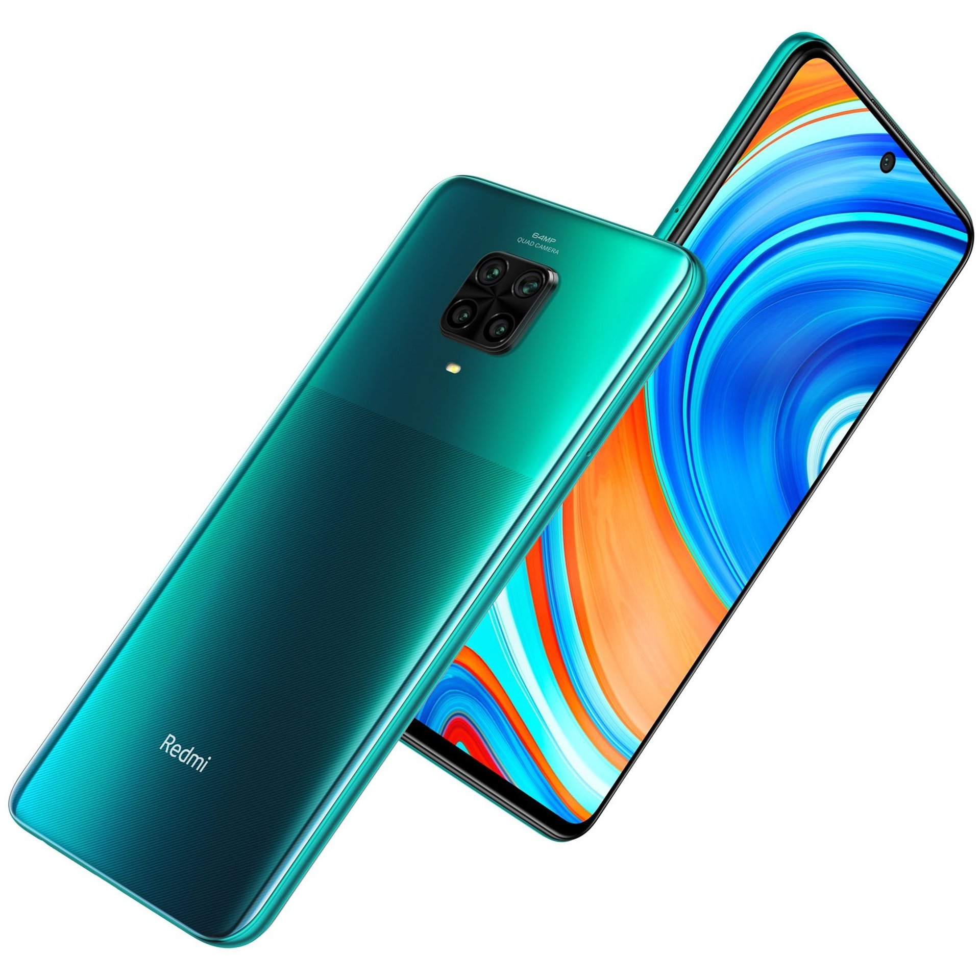 Xiaomi Redmi Note 9 Pro 6GB/64GB Dual Sim - Tropical Green : Mobile